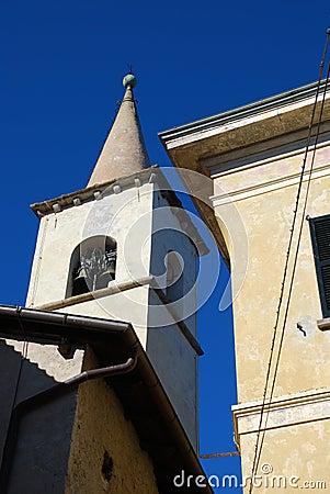 Lake Maggiore, Isola dei Pescatori, bell tower