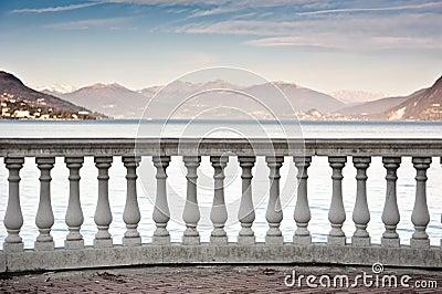 Lake Maggiore landscape