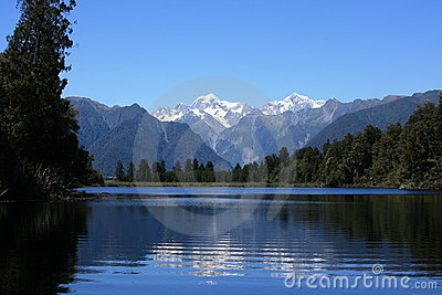 Lake Matheson / Mount Cook