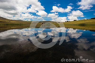 Lake Mirror Reflections Landscape