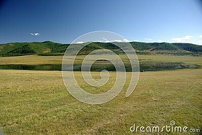 Lake in Mongolia