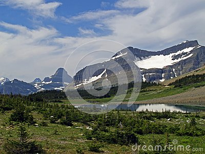 Lake and Mountains #1