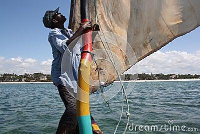Lake Naivasha. Kenya. Editorial Stock Image