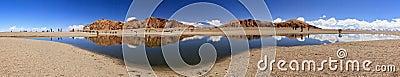 Lake in Nam Co, Tibet