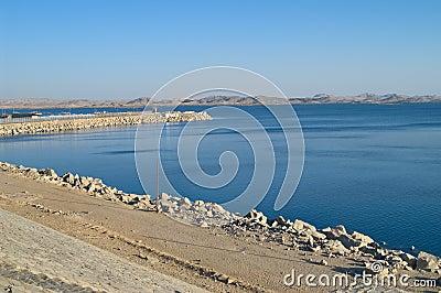 Lake Nasser Aswan Egypt
