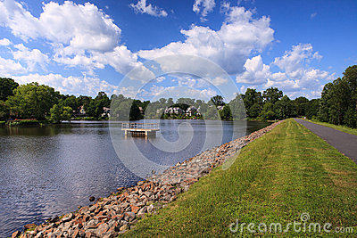 Lake Newport in Reston Virginia