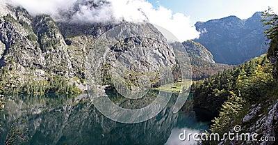 Lake Obersee, Bavaria.