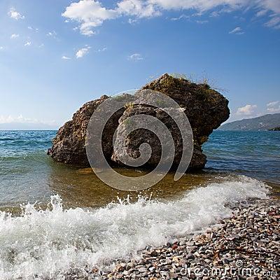 Free Lake Ohrid Royalty Free Stock Photo - 24939015