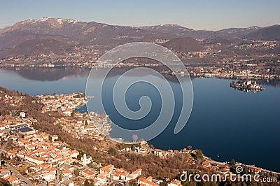 Lake Orta in Italy