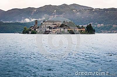 Lake Orta, San Giulio Island