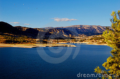Lake of Orxeta (Spain)