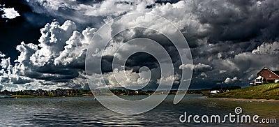 Lake panoramic