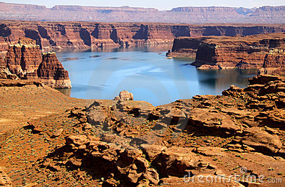 Lake Powell recreation area