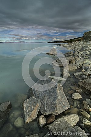 Lake Pukaki Shoreline