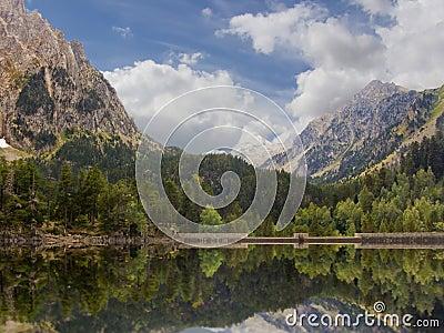 Lake in Pyrenees