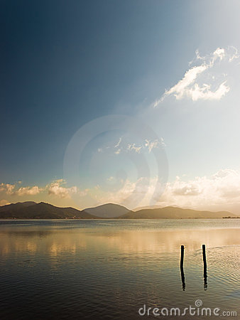 Lake quietness
