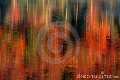 Lake Reflections of Autumn