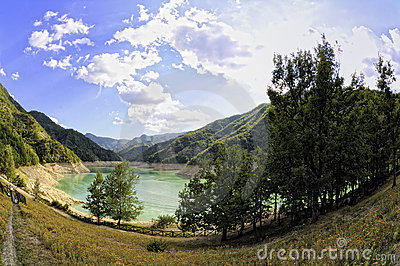 Lake of Ridracoli