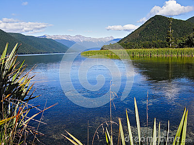 Lake Rotoroa, South Island, New Zealand