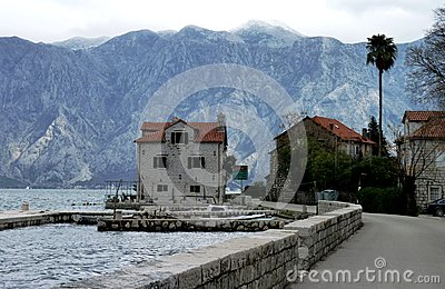 Lake sceneria in Montenegro