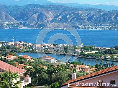 Lake and sea panorama