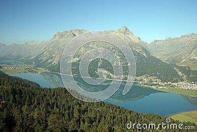 Lake of Silvaplana, Switzerland