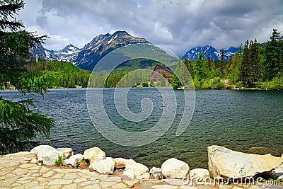 Lake Strbske Pleso