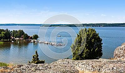 Lake in sweden.