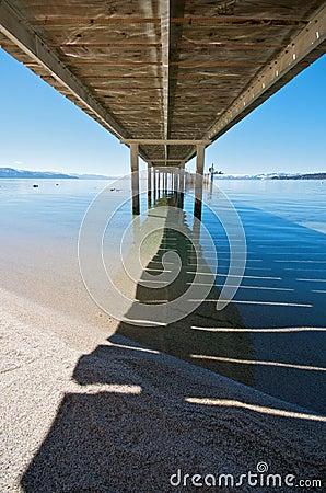 Free Lake Tahoe Pier Royalty Free Stock Photo - 8947625