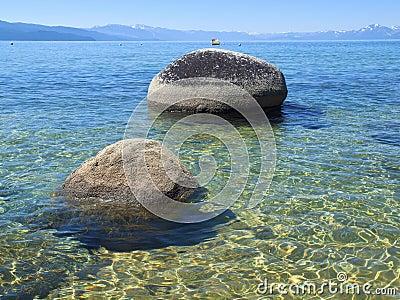Lake Tahoe scenic beauty.