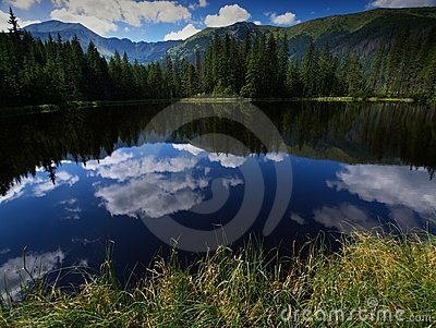 Lake in Tatry