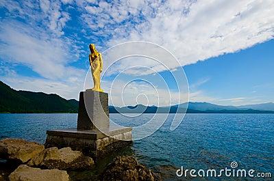 Lake Tazawa, Japan.