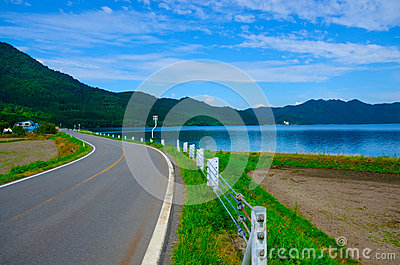 Lake Tazawa, Japan
