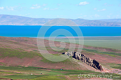 Lake in Tebit