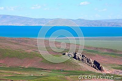 Lake in Tebit