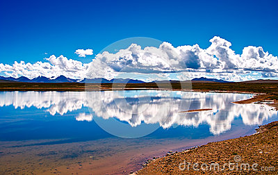 Lake of the Tibetan Plateau
