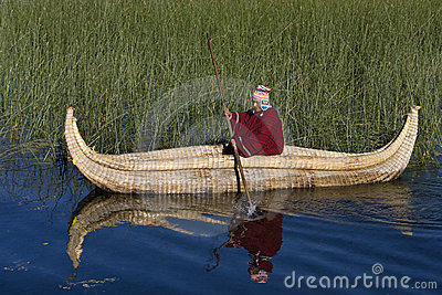 Lake Titicaca - Bolivia Editorial Stock Image