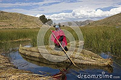 Lake Titicaca - Bolivia Editorial Image