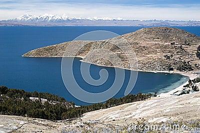 Lake Titicaca in Bolivia