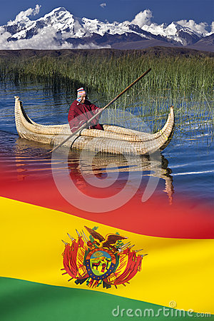 Lake Titicaca - Bolivia Editorial Photography