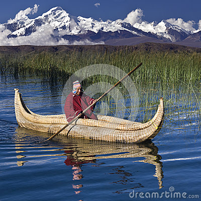 Lake Titicaca - Bolivia - South America Editorial Stock Image