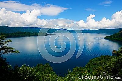 Lake Towada, Japan.