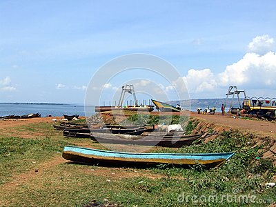 Lake victoria Editorial Stock Image