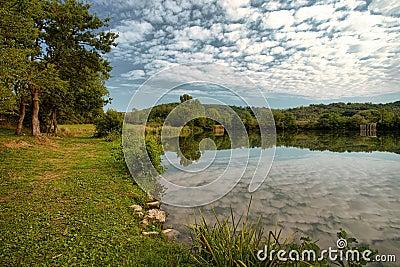 Lake Vogrscek, Slovenia, Europe