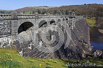 Lake Vyrnwy Dam - Powys - Wales - UK