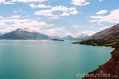 Lake Wakatipu, New Zealand
