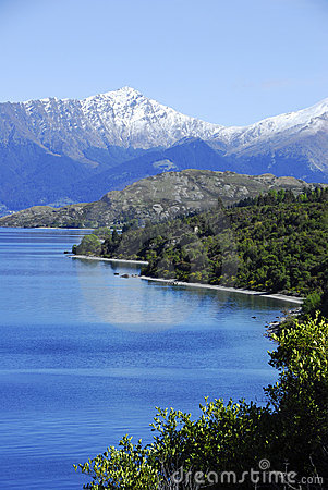 Free Lake Wakatipu -Queenstown Royalty Free Stock Image - 17716326