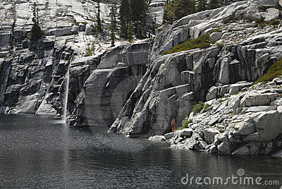 Lake & Waterfall all to yourself
