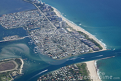 Lake Worth Inlet in Palm Beach County, Florida