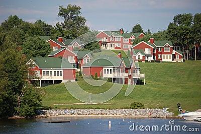 Lakefront condos